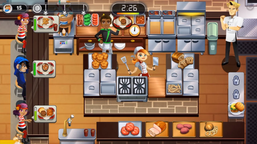 Gordon Ramsay DASH Gameplay